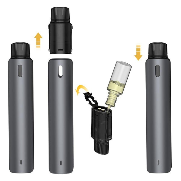 Aspire OBY Palm Sized Pod Device - Jet Black