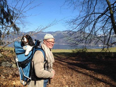 Dog carrier backpack Switzerland