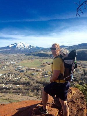 Dog carrier backpack for 25 lb dog
