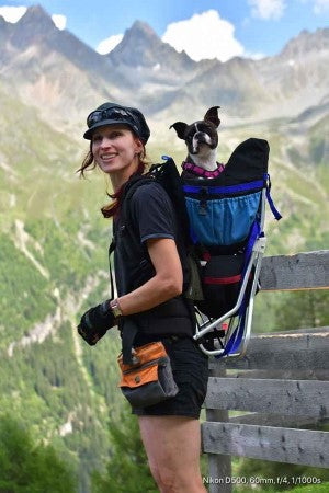 Dog Carrier Backpack for hiking
