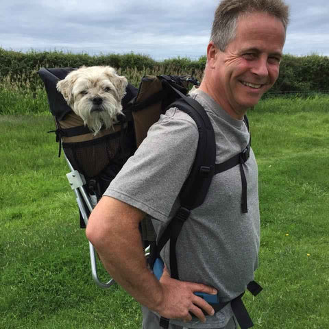 MUSTANG (XXL) DOG PERCH BACKPACK