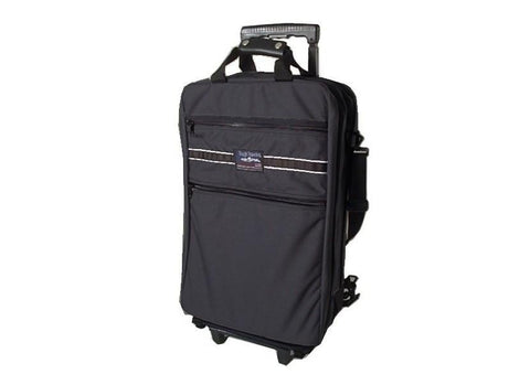 Made in USA Convertible Rolling Wheeled Suitcase Backpack
