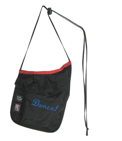 Lightweight velcro shoulder pouch