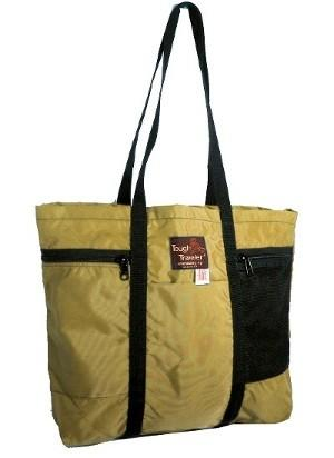 Made in USA environmental zippered tote bag