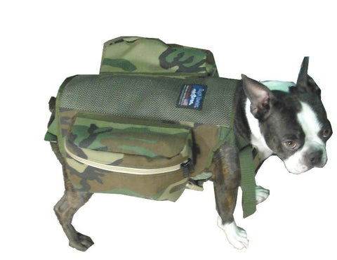DOG SADDLEBAGS
