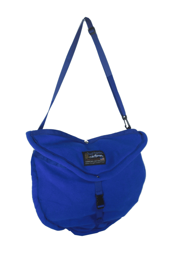 FLEECE SHOULDER BAG