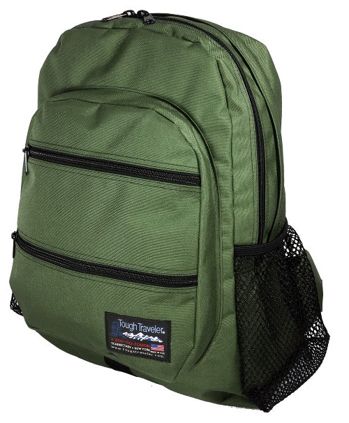 Ergonomic school backpack bookbag for heavy books