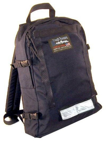 Simple USA-Made black backpack