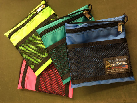 LARGE POUCH with MESH POCKET