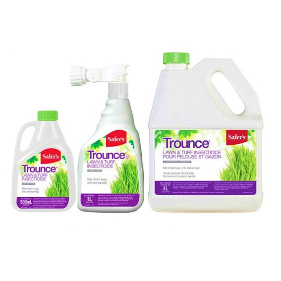 Safer's - Trounce insecticide pour pelouse et gazon