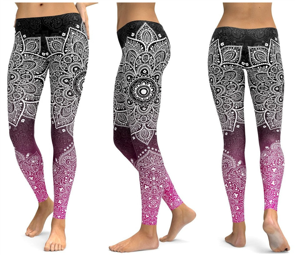 gabriella-zurich.com 3 Ansichten nur Unterleib Yogahose Frauen Fitness Leggings Workout Sport Laufen Leggins Sexy Push Up Gym