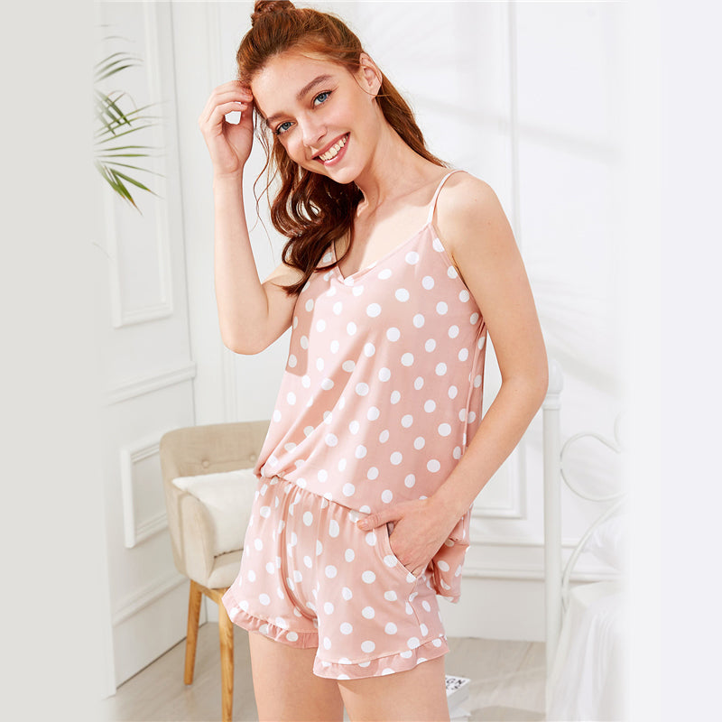 Polka Dot REALM PJ Set - PHINE Co.