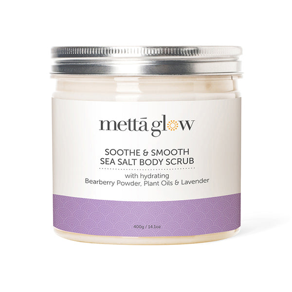 SOOTHE AND SMOOTH SEA SALT BODY SCRUB