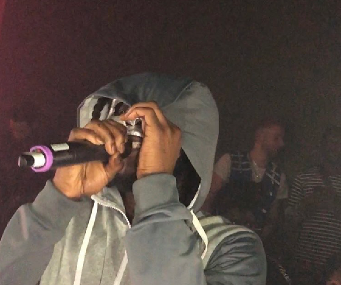 Drill originator LD (from the group 67)  at a rare live performance for Places + Faces in 2018.  Photo by the author.