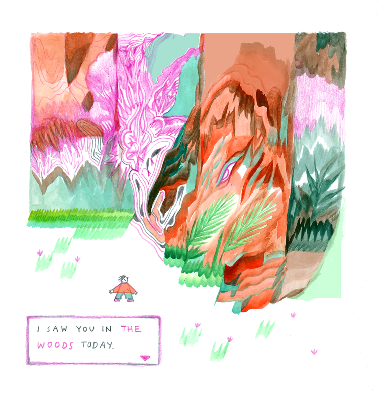 In The Woods by Kira Buro (2020)