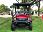 gas golf cart,golf cart,cazador,dynamic ,bighorn,red golf cart,lsv,stree leagle golf cart