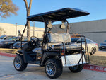 Hulk Super E-Max 60v LSV golf cart Black