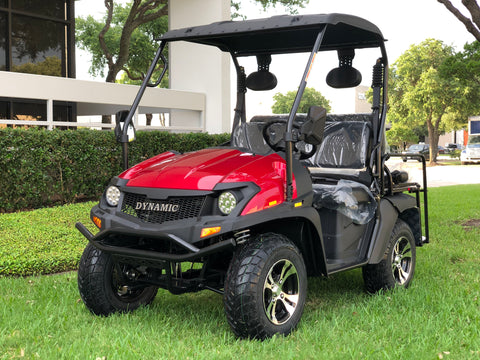 Hulk E-Max Red, 60V golf cart