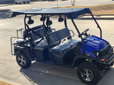 fuel injection golf cart, gas golf cart,limo golf cart,lsv,street legal golf cart, 6 seater
