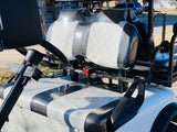 Dynamic Enforcer LSV golf cart White