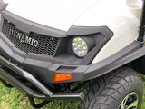 gas golf cart,golf cart,cazador,dynamic ,bighorn,white golf cart,lsv,carbon fiber