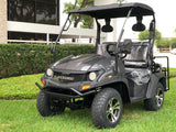gas golf cart,golf cart,cazador,dynamic ,bighorn,black golf cart,lsv,carbon fiber