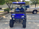 Dynamic Enforcer LSV golf cart Blue