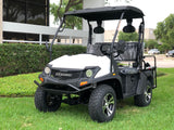 gas golf cart,golf cart,cazador,dynamic ,bighorn,white golf cart,lsv,stree leagle golf cart