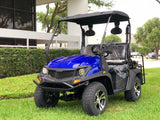 gas golf cart,golf cart,cazador,dynamic ,bighorn,blue golf cart,lsv
