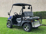 Hulk E-Max 60V LSV golf cart Blue
