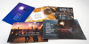 Spread Light Hanukkah Greeting Cards