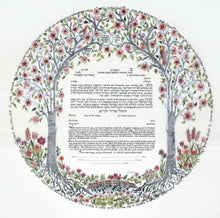 Load image into Gallery viewer, Trees of Life Ketubah
