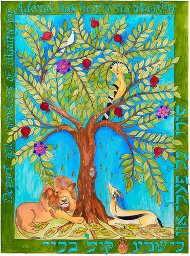 The Tree Of Life Is Weeping, Giclee Art Print