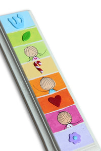 Personalized Kids Mezuzah Case