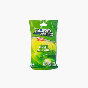 Oates DuraWipe Multi Surface Wipe - 30 Wipe Pack