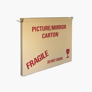 Picture and Mirror Moving Box - Single