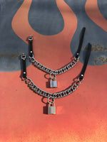 Curb Chain Collar (lock optional)