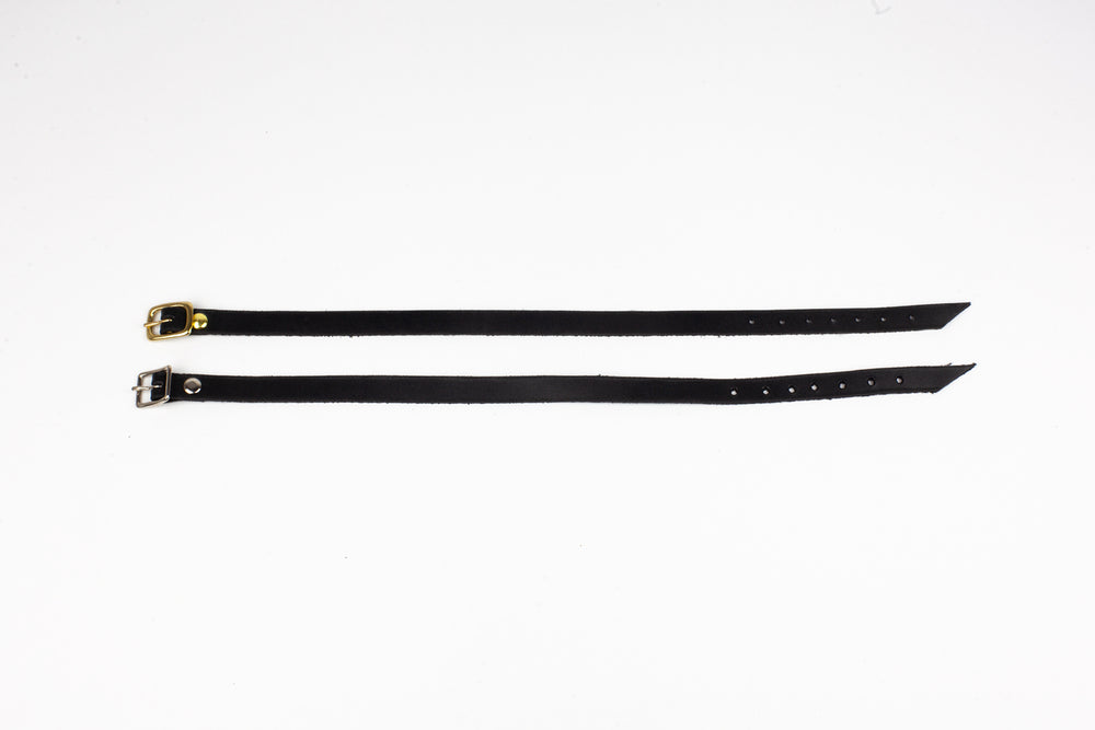 Leather Stacker Choker