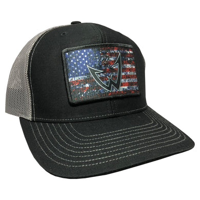 Wesley Strader American Structured Patch Hat