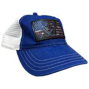 Wesley Strader American Unstructured Patch Hat