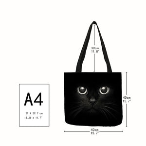 The Traveling Kitty Tote - Size - JBCoolCats