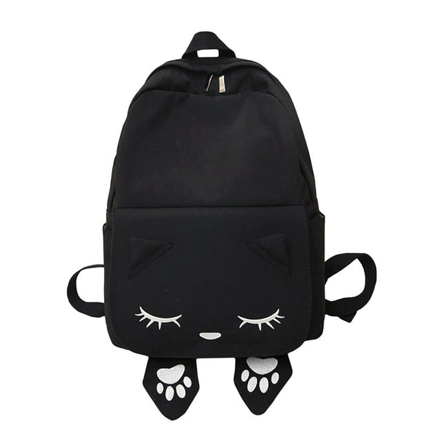 Cat Themed Backpacks - Black - JBCoolCats