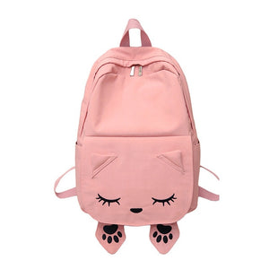 Cat Themed Backpacks - Pink - JBCoolCats