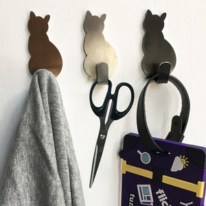 Adorable Self-Adhesive Cat Hooks - Accessory - JBCoolCats