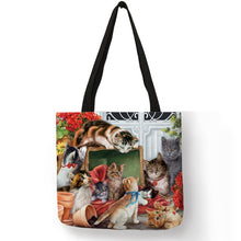Load image into Gallery viewer, Traveling Kitty Tote 2 - Accessory 02 - JBCoolCats