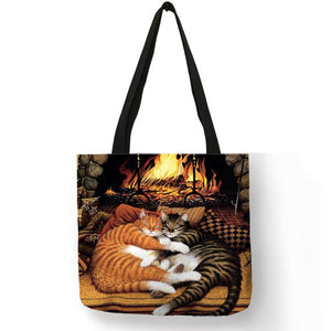 Traveling Kitty Tote 2 - Accessory 10 - JBCoolCats