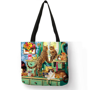 Traveling Kitty Tote 2 - Accessory 11 - JBCoolCats