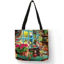 Load image into Gallery viewer, Traveling Kitty Tote 2 - Accessory 13 - JBCoolCats