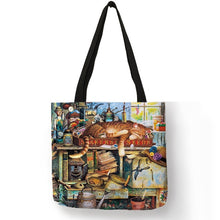 Load image into Gallery viewer, Traveling Kitty Tote 2 - Accessory 14 - JBCoolCats