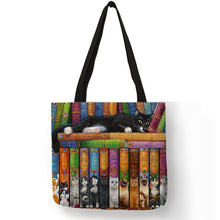 Load image into Gallery viewer, Traveling Kitty Tote 2 - Accessory 15 - JBCoolCats